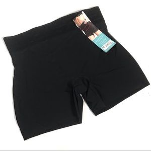 Spanx Assets Black Shaping Girl Short Bundle of 2